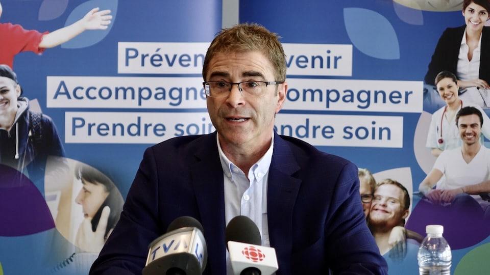 Le docteur Sylvain Leduc.