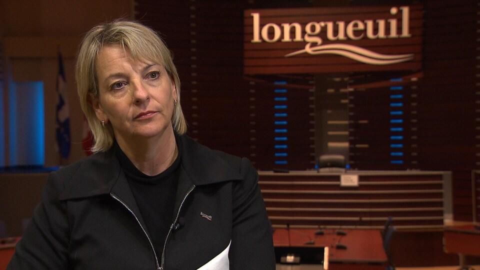 Sylvie Parent, mairesse de Longueuil