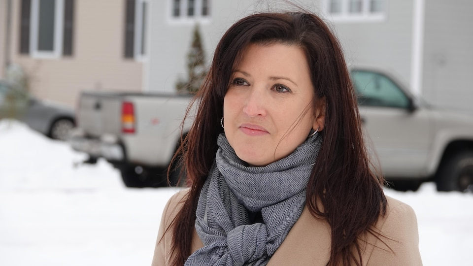 Sylvie Thériault le 7 janvier 2021.