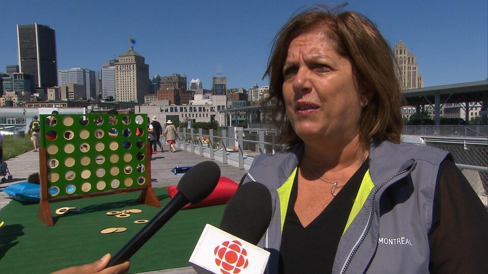 La pdg du Port de Montréal, Sylvie Vachon.