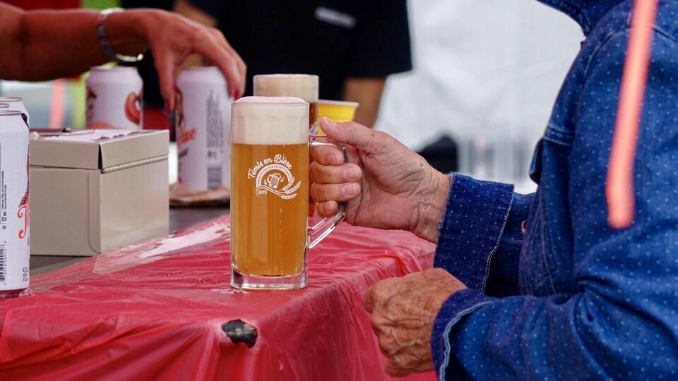 Le bock thématique de Témis en bière 2019.