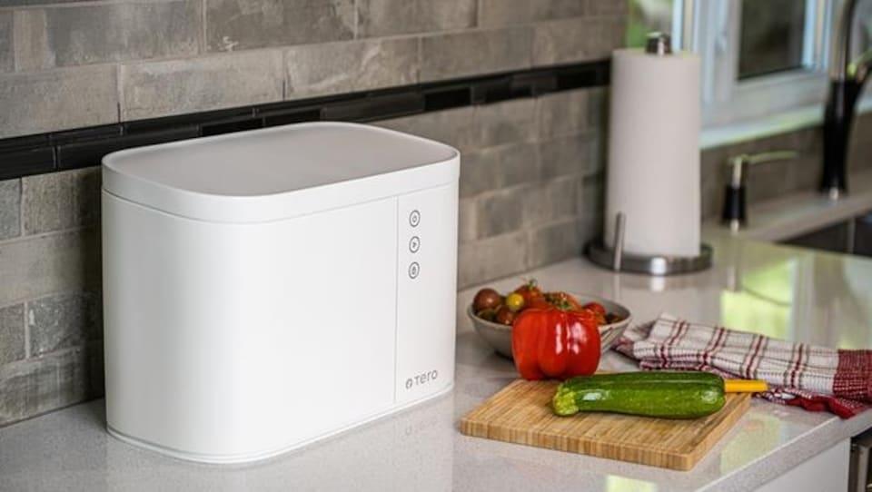 Un appareil Tero sur le comptoir d'une cuisine.