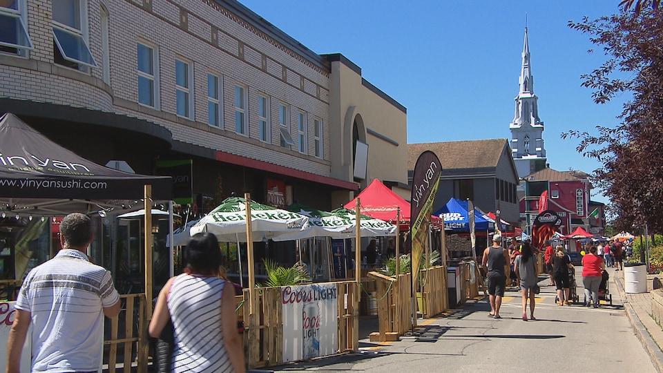 Les Terrasses urbaines ont été ouvertes au public pendant 10 jours cette année