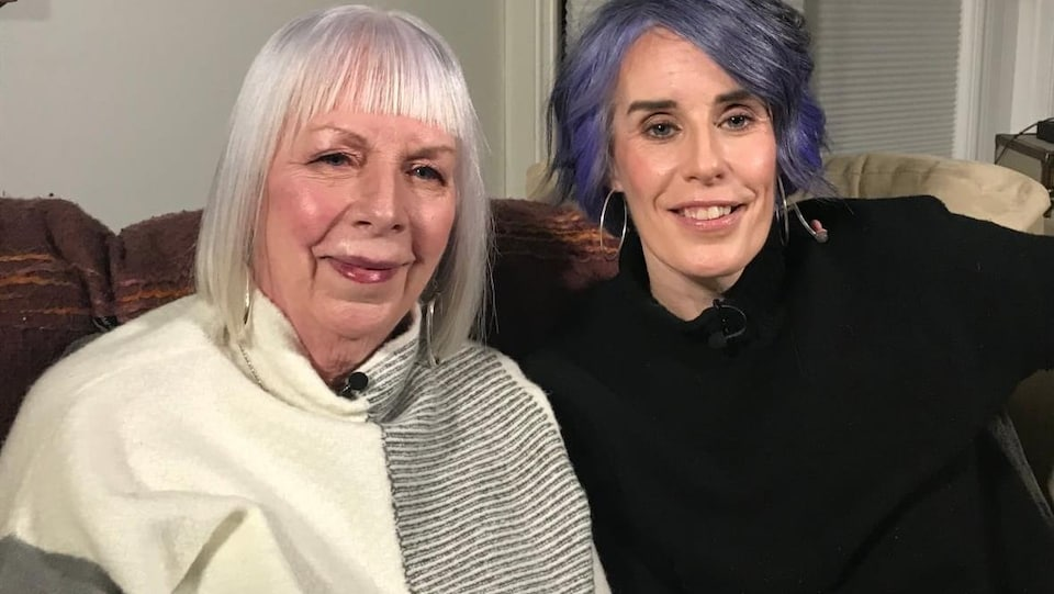 Jeanette Dunne (à gauche) et Wendy Dunne.