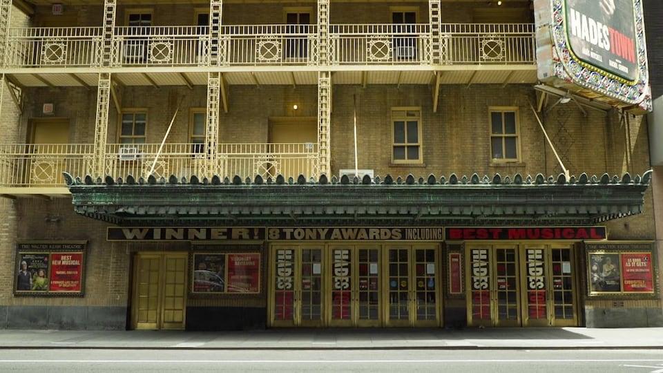 Un théâtre à Broadway.