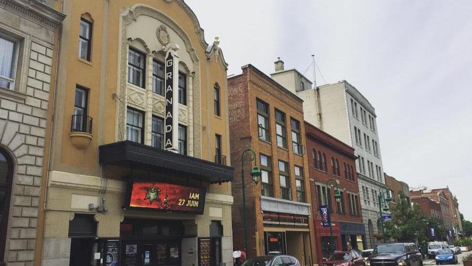 Façade du Théâtre Granada.