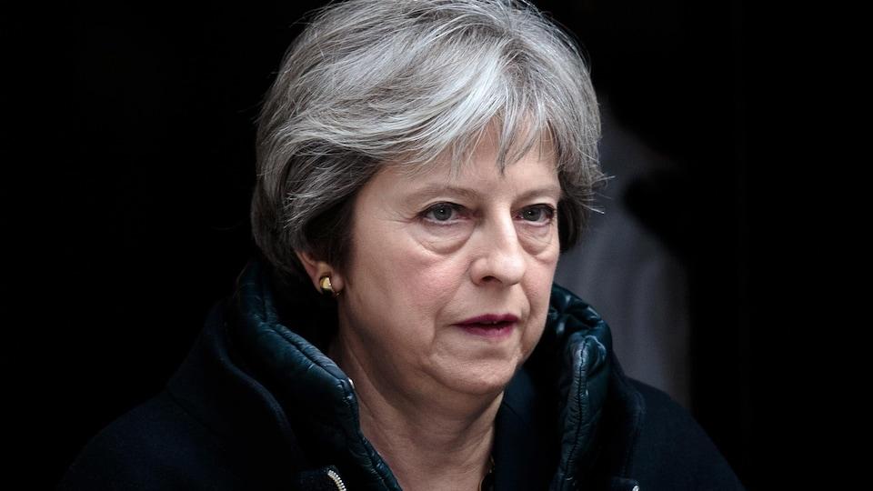 La première ministre Theresa May.