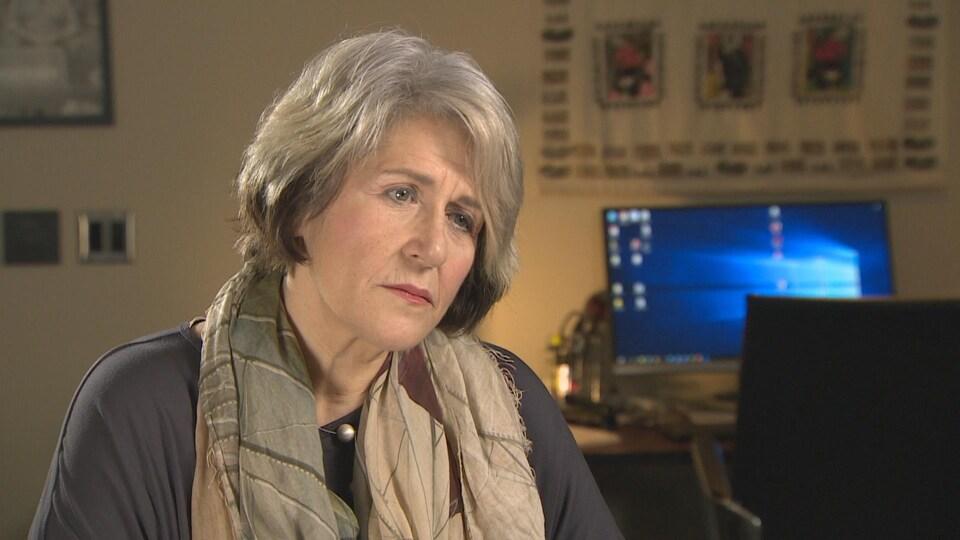 Theresa Tova, la présidente de l'ACTRA de Toronto
