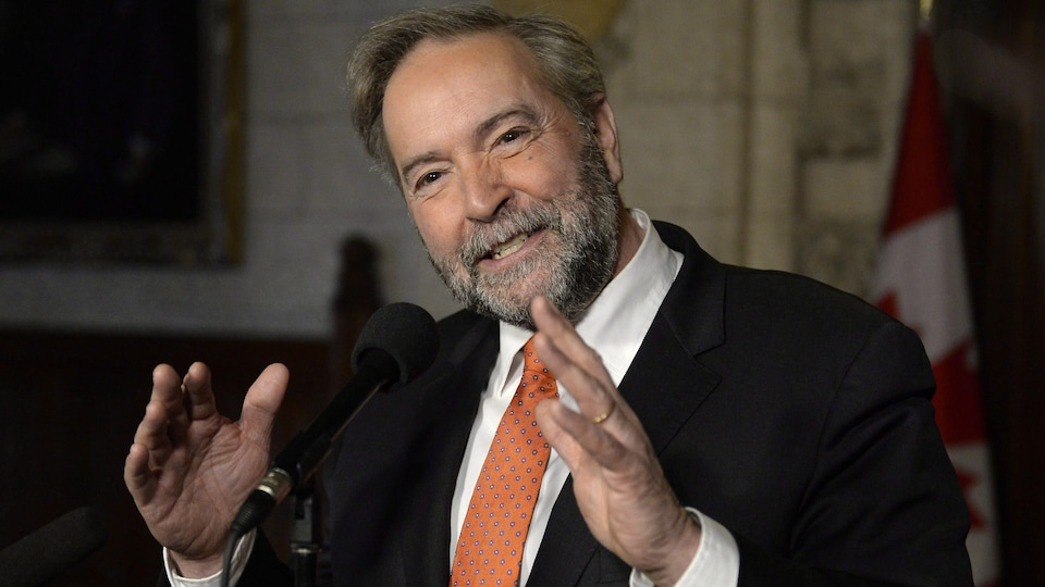 L'ancien chef du NPD, Tom Mulcair
