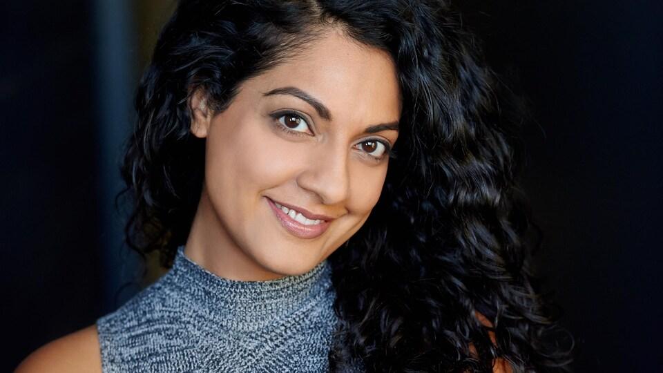 L'actrice Aliya Kanani.