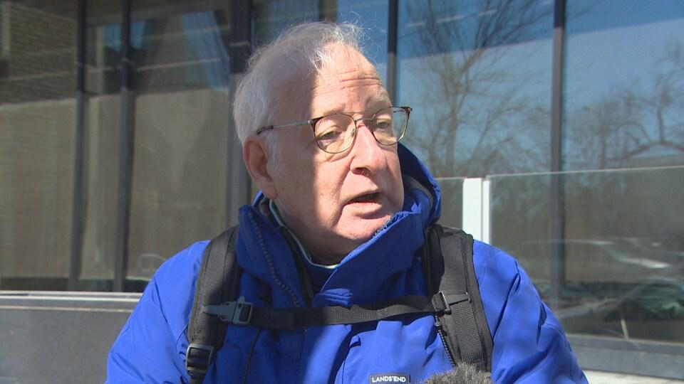 Charles Tinman, un résident de Winnipeg.