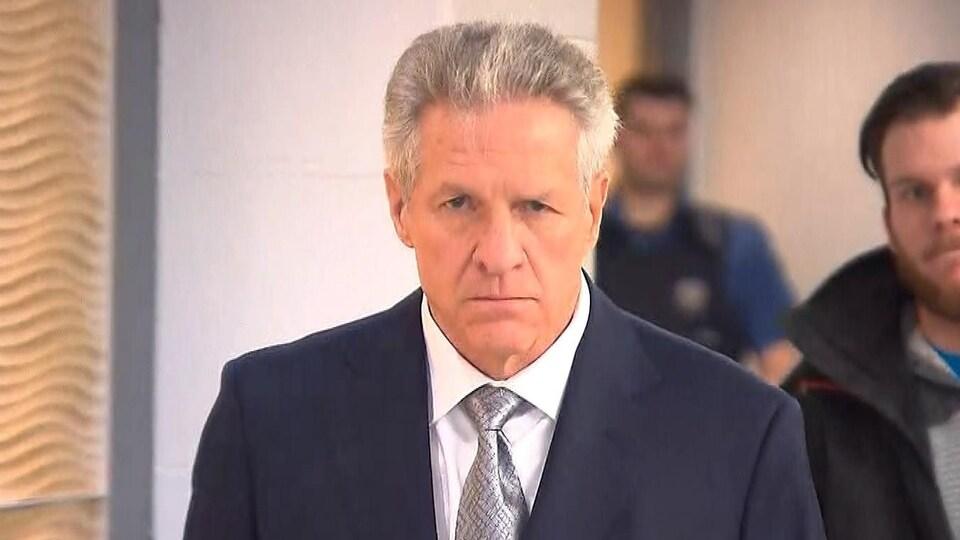Tony Accurso au palais de justice