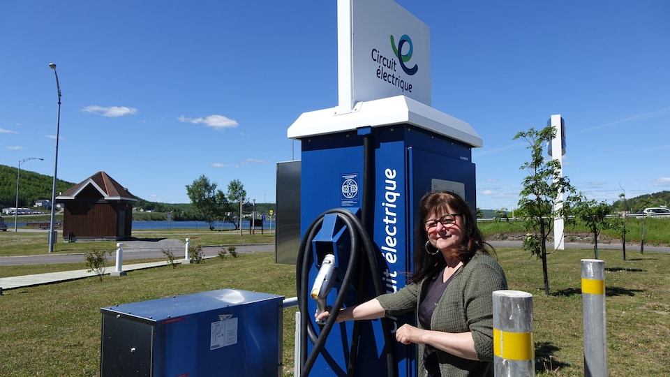 Lise Chartrand, du groupe Ensemble pour l'avenir durable du Grand Gaspé.