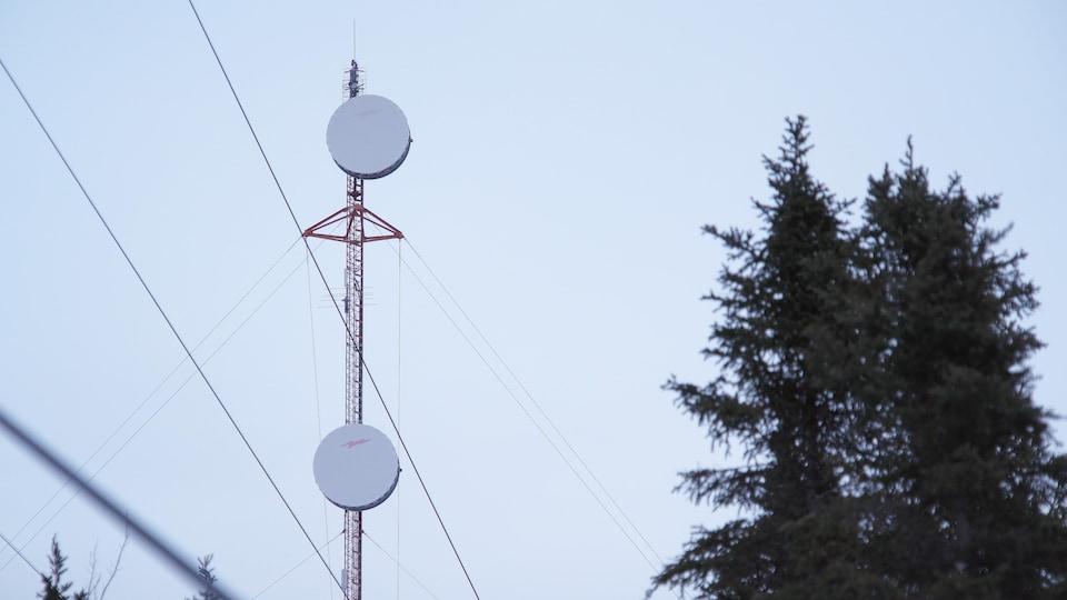 Un antenne de télécommunication