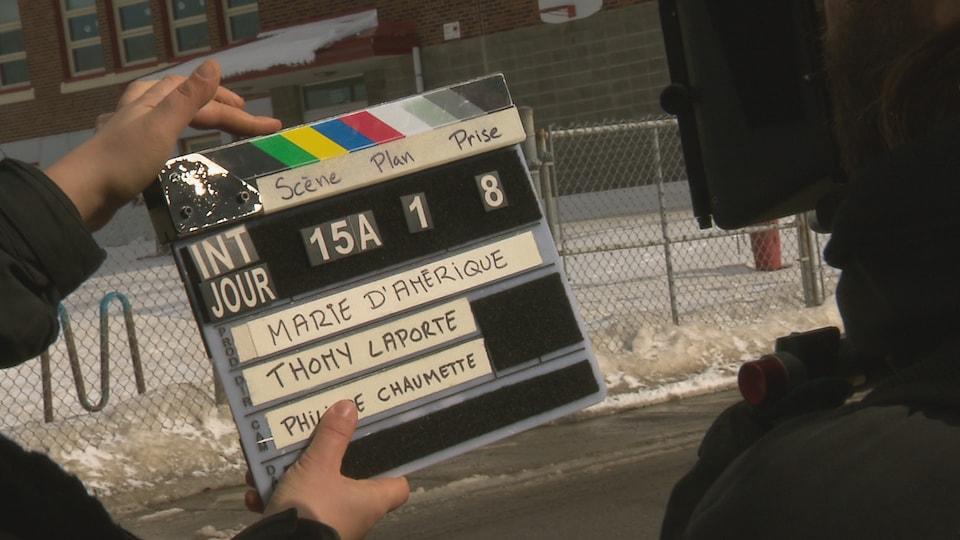 Le court-métrage Marie d'Amérique en tournage à Rimouski