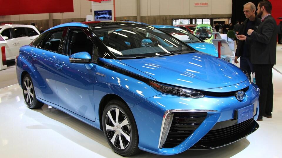 La Toyota Mirai au Salon international de l'auto de Québec