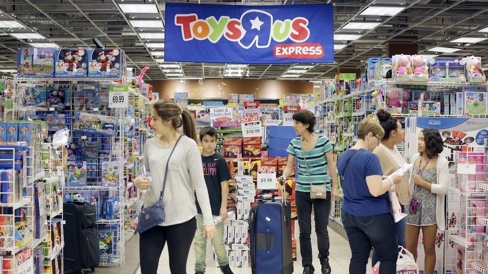 Le détaillant Toys R Us
