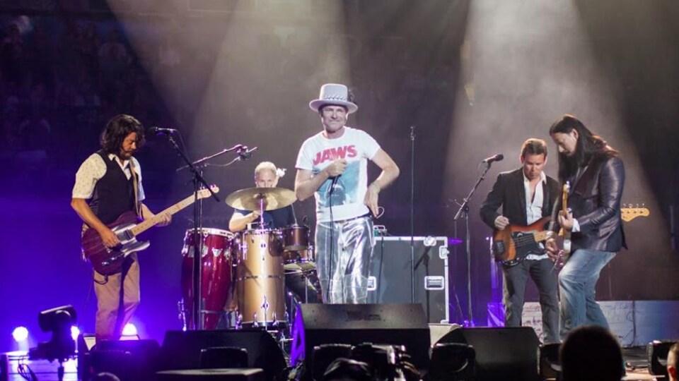 The Tragically Hip en concert en 2016 à Edmonton