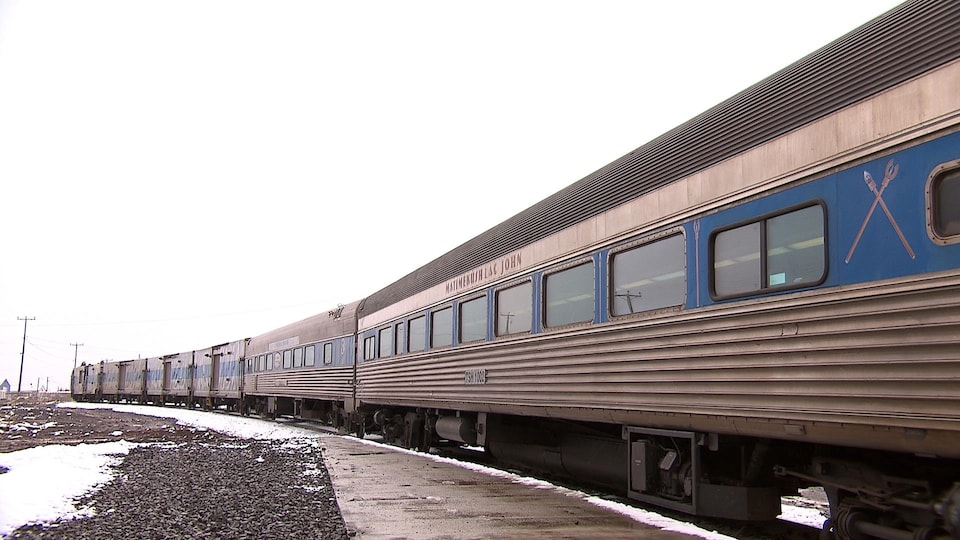 Train à Schefferville