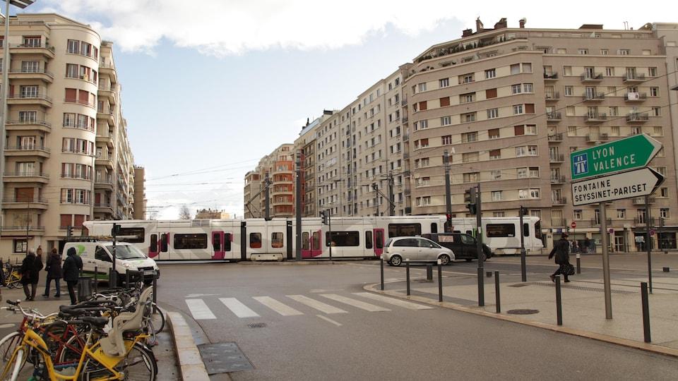 Tramway à Grenoble
