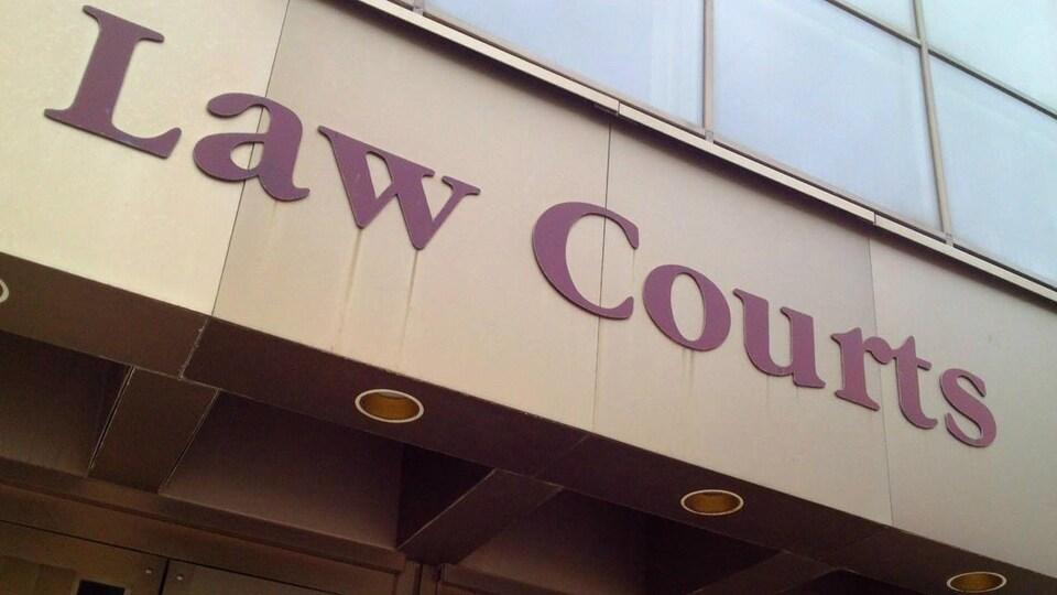 Le tribunal à Winnipeg.