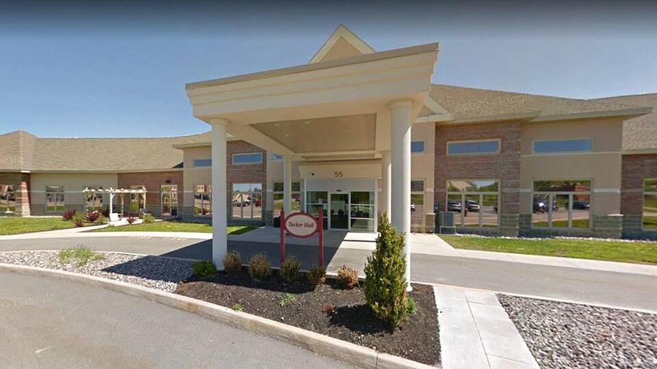 Capture d'écran du bâtiment sur Google Street View.