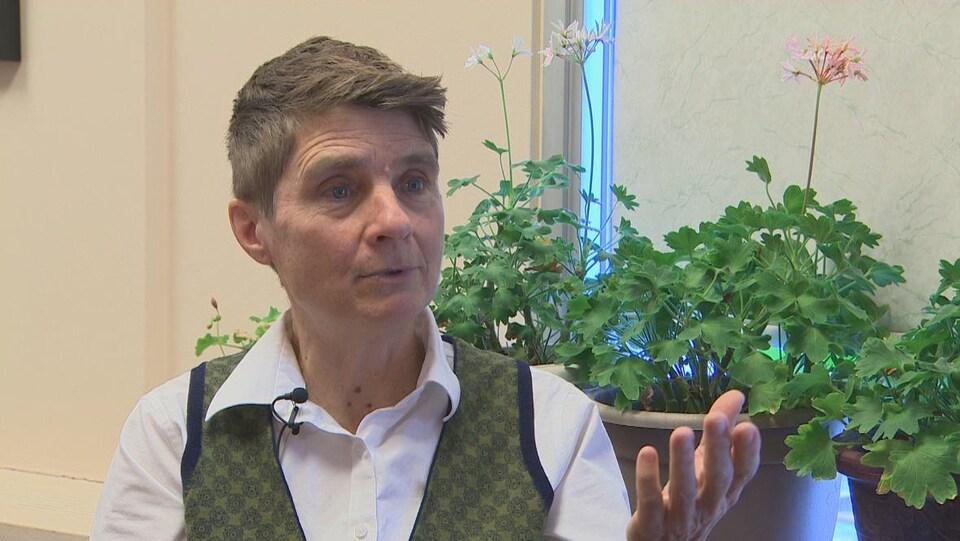 Catherine Tully en entrevue