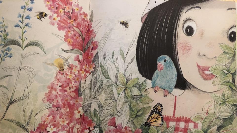 Un jardin pour Tipiti le colibri est la deuxième aventure de Camille et Paolo.Un très bel album jeunesse pour les 0-5 ans.