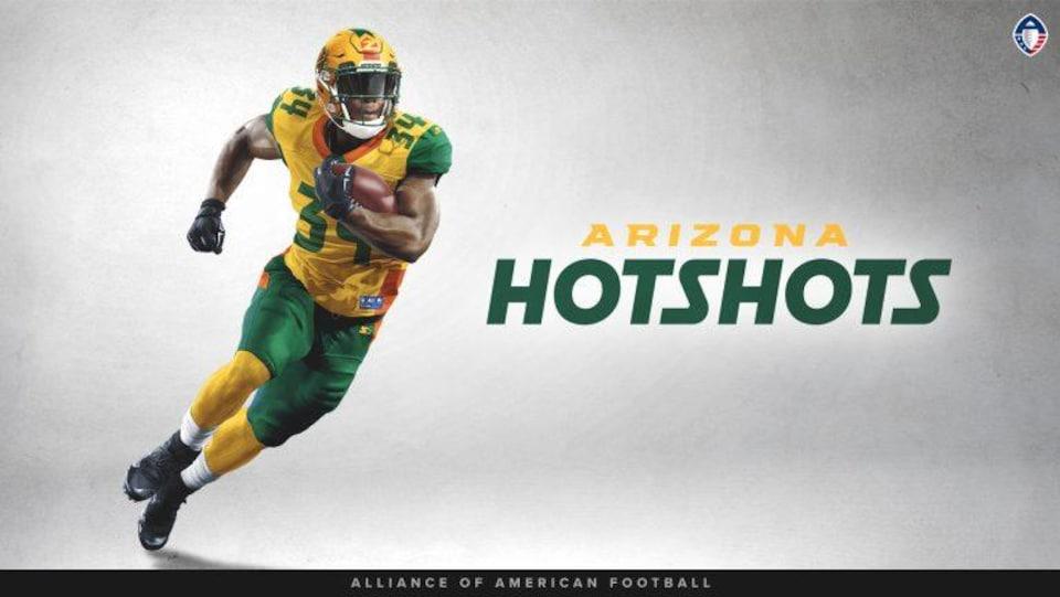 Uniforme des Hotshots de l'Arizona de l'Alliance américaine de football