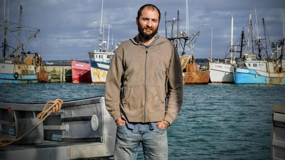 Lex Brukovskiy est le représentant local de l'Union des pêcheurs des Maritimes à Meteghan