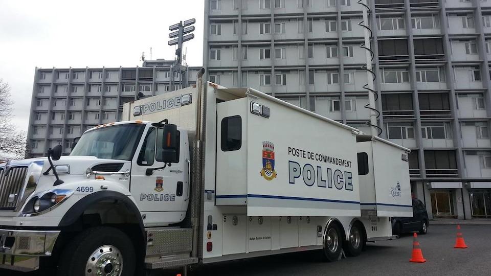 La police de Québec tente de contacter un maximum de témoins.