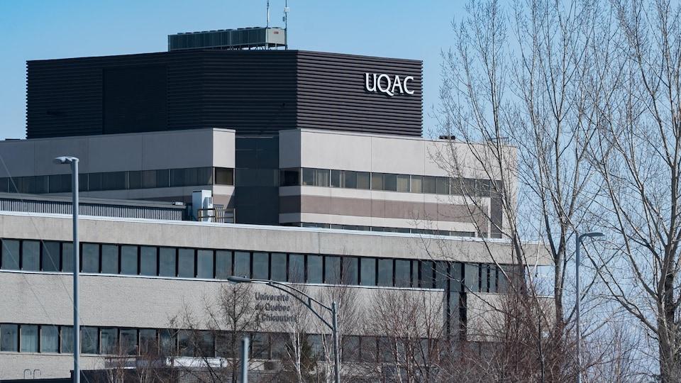 Un pavillon de l'UQAC.