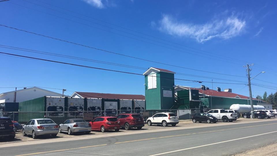 L'usine Bolero, à Saint-Simon
