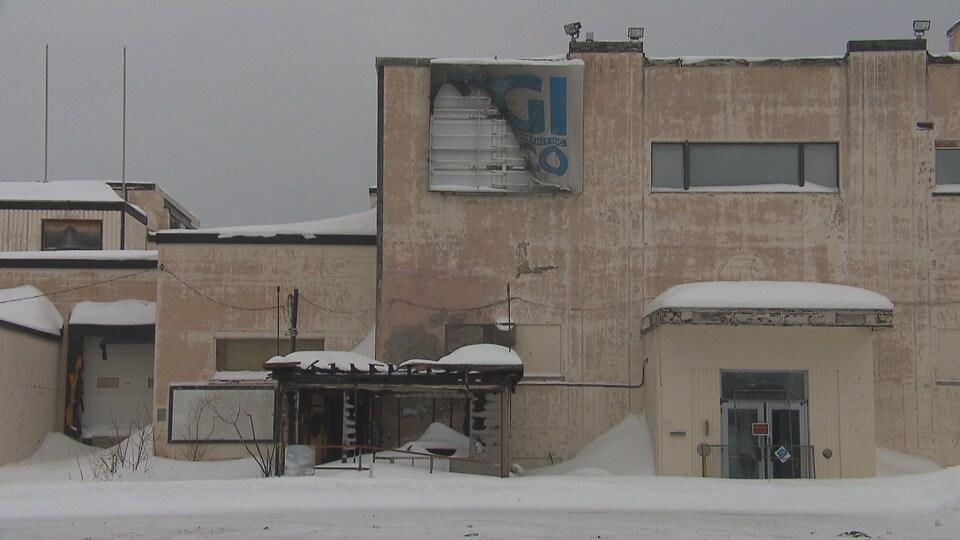 La facade extérieure de l'usine Difco.