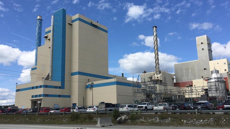 Un complexe industriel.