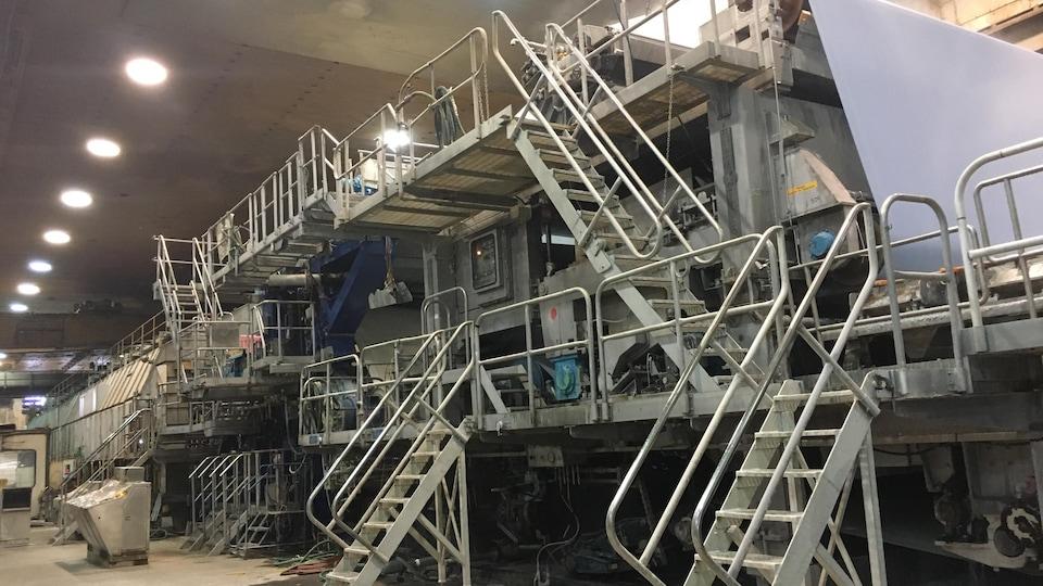La machine à papier
