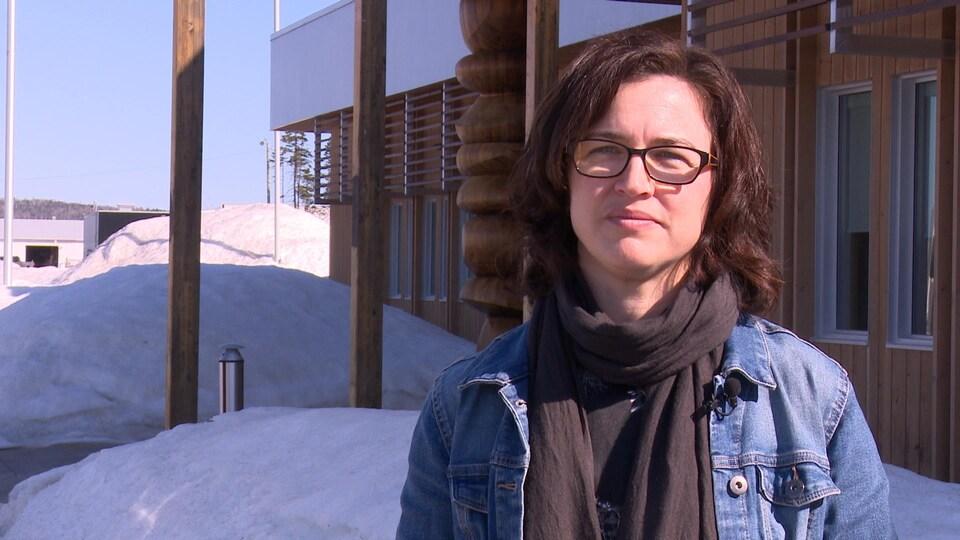 Valérie Bujold, biologiste au ministère des Forêts, de la Faune et des Parcs