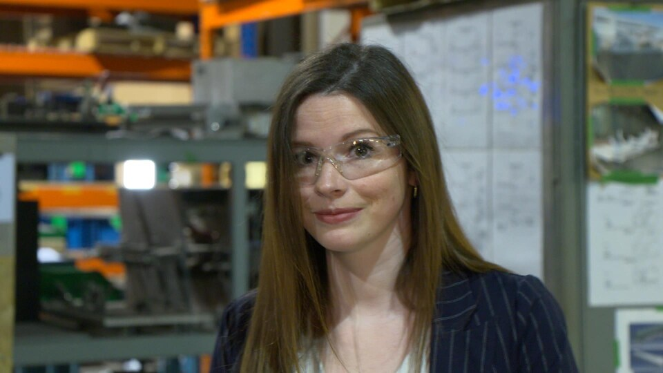 Valerie Grenier-Rancourt, vice-présidente de l'entreprise LG Cloutier.