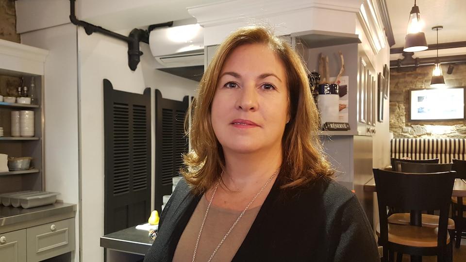La directrice des ressources humaines du groupe Restos Plaisirs, Valérie Houde