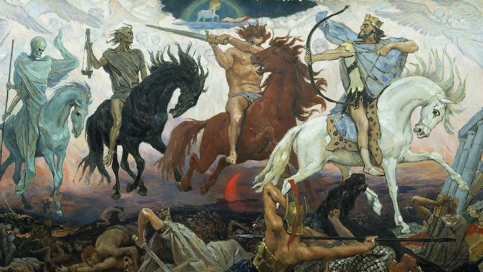 Les Quatre Cavaliers de l'Apocalypse.