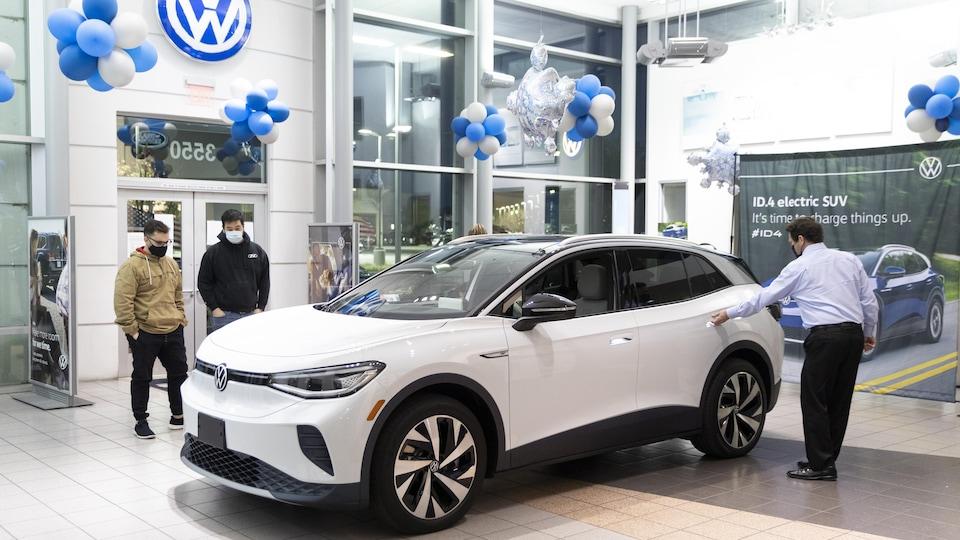 La nouvelle Volkswagen ID.4.