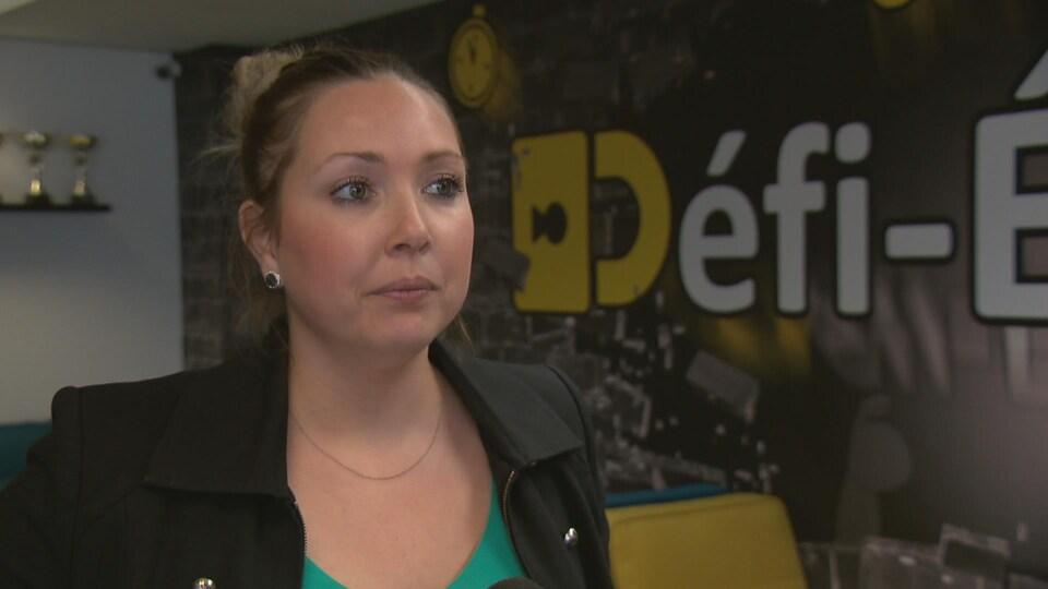 Véronique Girard, copropriétaire du Défi-Évasion à Québec