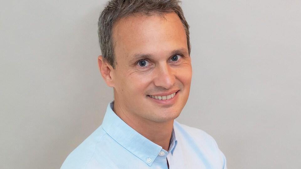 Vincent Giraud, vice-président pour Club Med au Canada