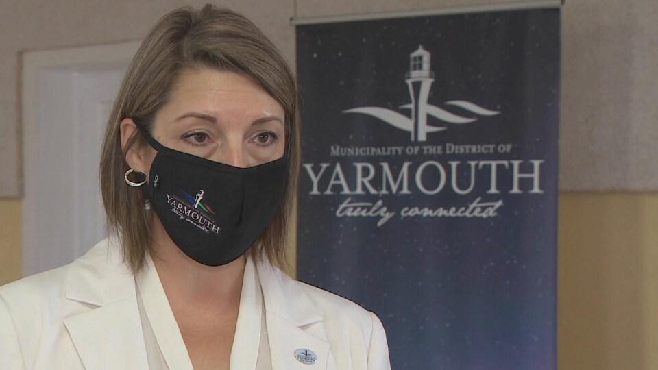 Victoria Brooks, directrice générale de la Municipalité de Yarmouth.