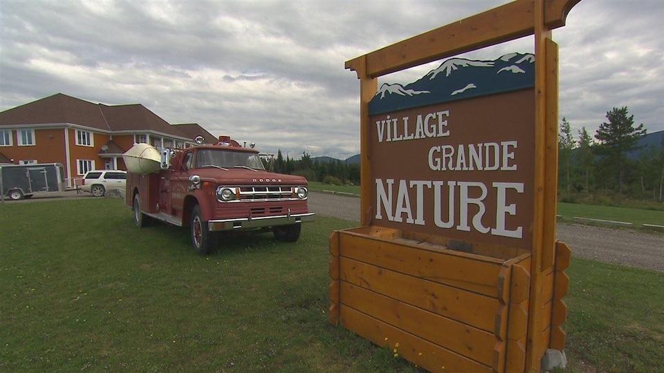 Le Village Grande Nature à Saint-Octave-de-l'Avenir