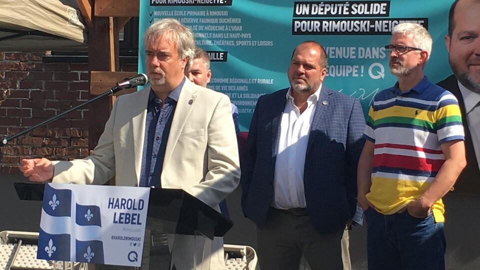 Vincent Couture, candidat péquiste dans Rivière-du-Loup-Témiscouata