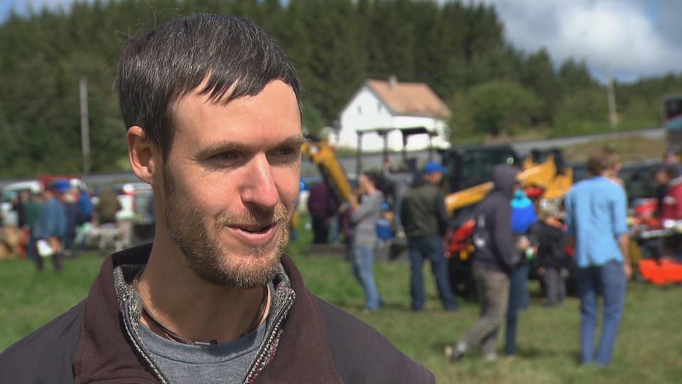 Vincent Lambert, producteur forestier
