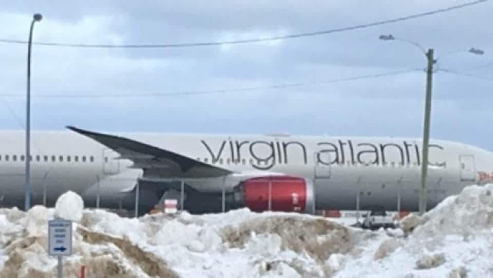 Un avion de la compagnie Virgin Atlantic