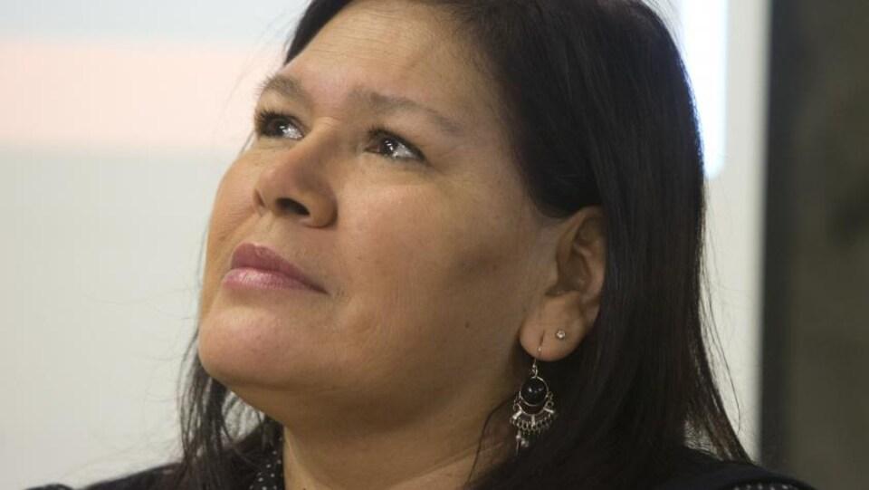 Viviane Michel, présidente de Femmes autochtones du Québec
