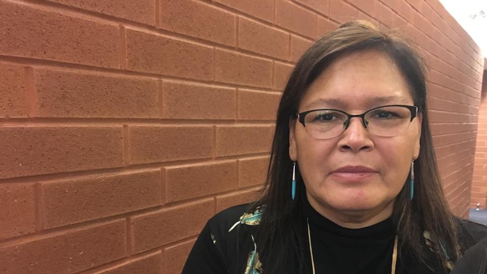 Viviane Michel, présidente de Femmes autochtones du Québec (FAQ)